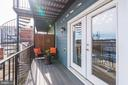 Private Balcony Located off Master Bedroom! - 1811 3RD ST NE #1, WASHINGTON