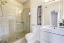 Master Bathroom: Frameless Glass Shower! - 1811 3RD ST NE #1, WASHINGTON