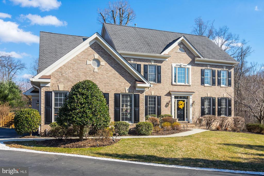 Beautlifully  landscaped & maintained - 1309 SHAKER WOODS RD, HERNDON