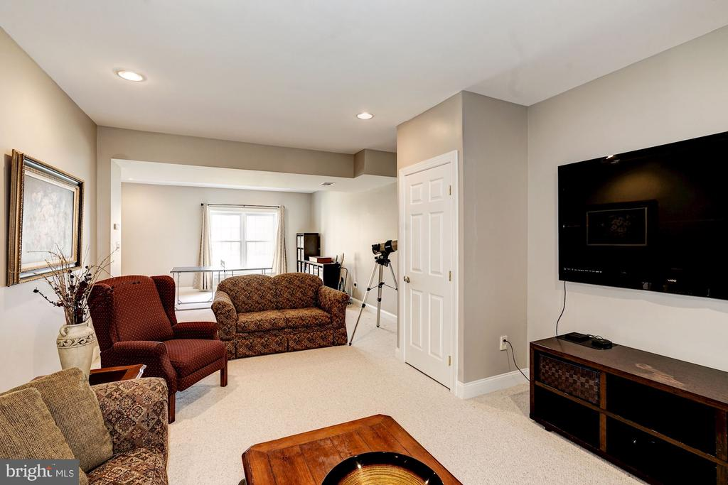 Add'l view of LL family room - 1309 SHAKER WOODS RD, HERNDON