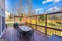 Views of the rear fenced yard - 1309 SHAKER WOODS RD, HERNDON