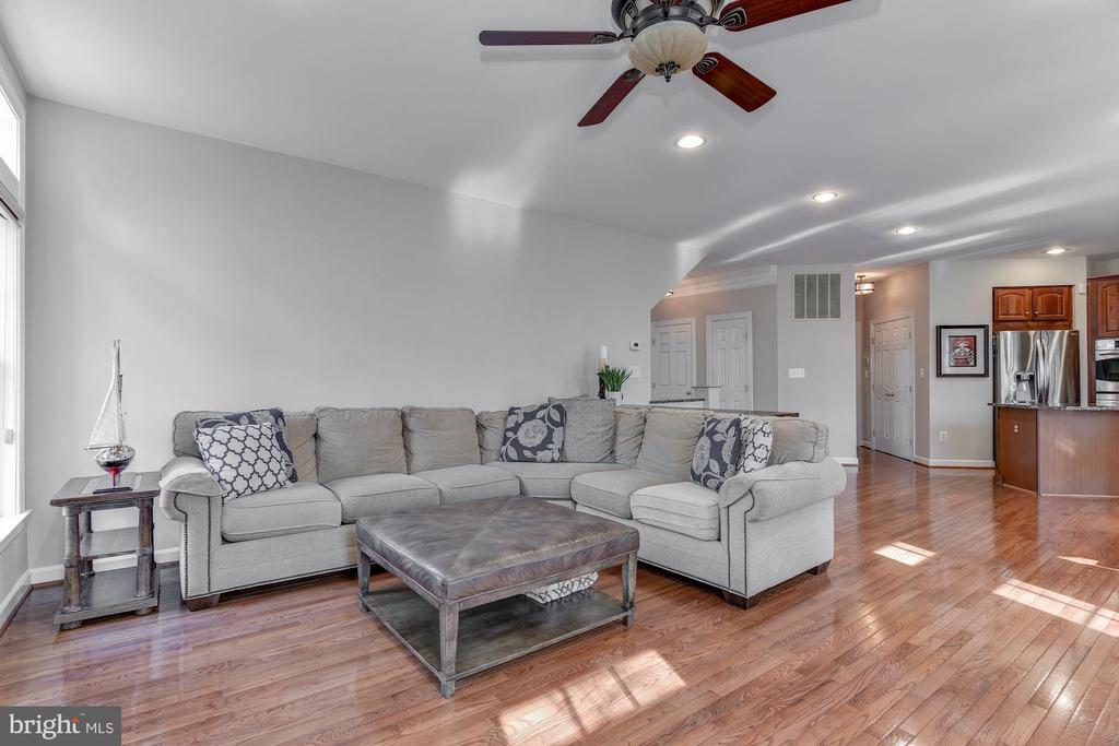 Family room - 718 TURTLE POND LN, GAITHERSBURG