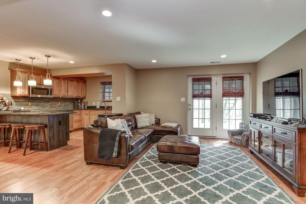 Renovated walk-out basement - 718 TURTLE POND LN, GAITHERSBURG