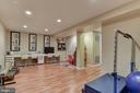 Playroom on lower level - 718 TURTLE POND LN, GAITHERSBURG