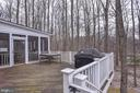 Perfect deck for grilling - 718 TURTLE POND LN, GAITHERSBURG