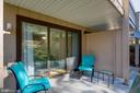 Private patio area - 8500-P BARRINGTON CT #P, SPRINGFIELD