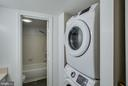 Newer washer and dryer in unit - 8500-P BARRINGTON CT #P, SPRINGFIELD