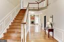 Stairs to upper level - 11911 CRAYTON CT, HERNDON