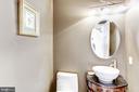Powder Room - 11911 CRAYTON CT, HERNDON