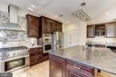 Kit. w/two ovens and 2 dishwashers - 11911 CRAYTON CT, HERNDON