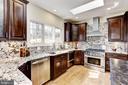 Kitchen with gorgeous granite & SS appliances - 11911 CRAYTON CT, HERNDON