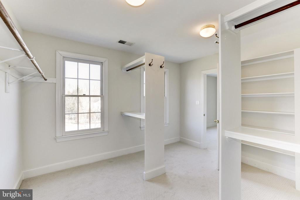 Master Bedroom walk in closet - 11911 CRAYTON CT, HERNDON