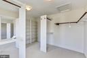 Walk in closet - 11911 CRAYTON CT, HERNDON