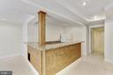 Lower Level bar - 11911 CRAYTON CT, HERNDON
