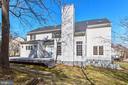 Back yard - 11911 CRAYTON CT, HERNDON