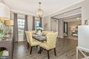 Dining Room w/ included Crown Molding - 501 ISAAC RUSSELL, NEW MARKET