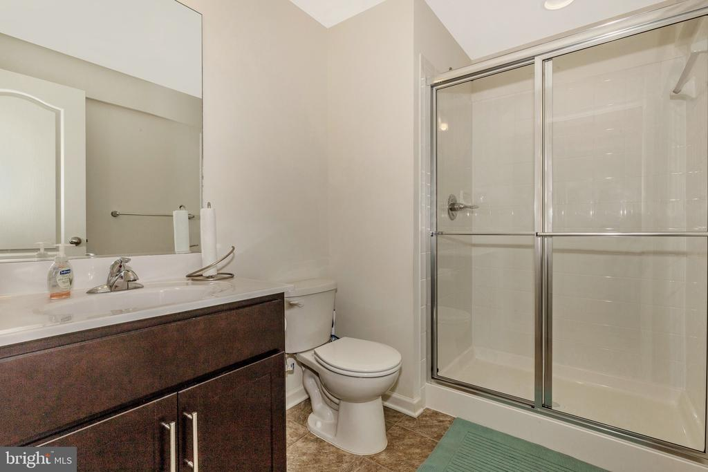 optional Finished Basement Bathroom - 501 ISAAC RUSSELL, NEW MARKET