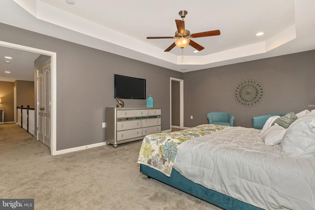 Master Bedroom w/ optional Tray Ceiling - 501 ISAAC RUSSELL, NEW MARKET