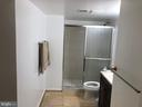 Basement bathroom - 22401 SWEETLEAF LN, GAITHERSBURG