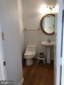 Half bath main level - 22401 SWEETLEAF LN, GAITHERSBURG