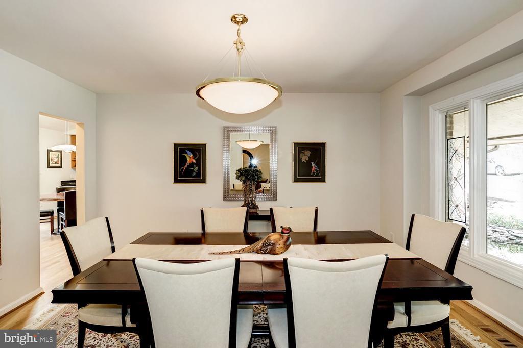 Dinning Room - 5322 BLACK OAK DR, FAIRFAX