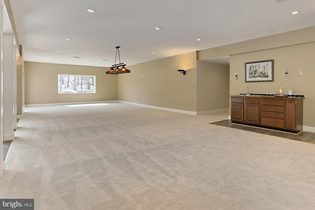 Recreation/Game Room with Wet Bar - 36585 SAWMILL LN, PURCELLVILLE