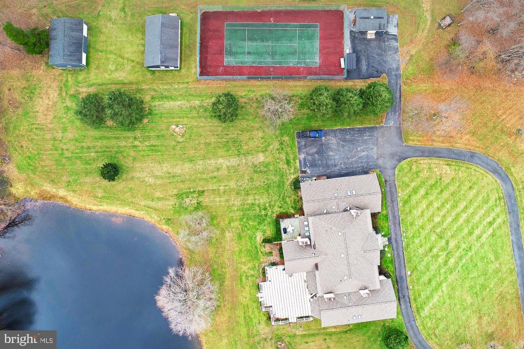 Aerial Views - 36585 SAWMILL LN, PURCELLVILLE