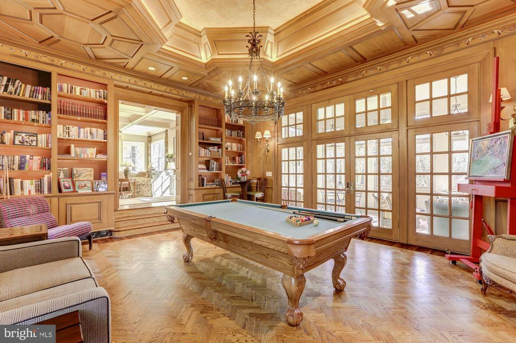 Billiard Room - 4934 INDIAN LN NW, WASHINGTON
