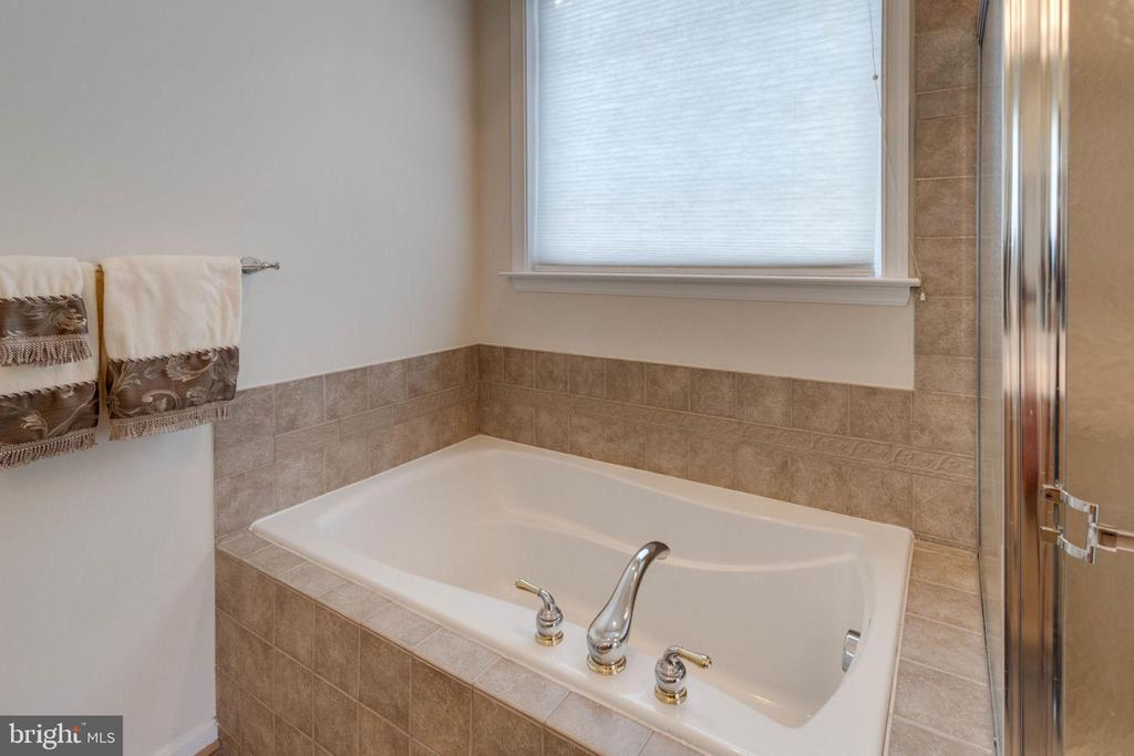 Master bath has separate tub and shower - 6136 FERRIER CT, GAINESVILLE