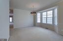Dining room can accommodate a large table - 6136 FERRIER CT, GAINESVILLE