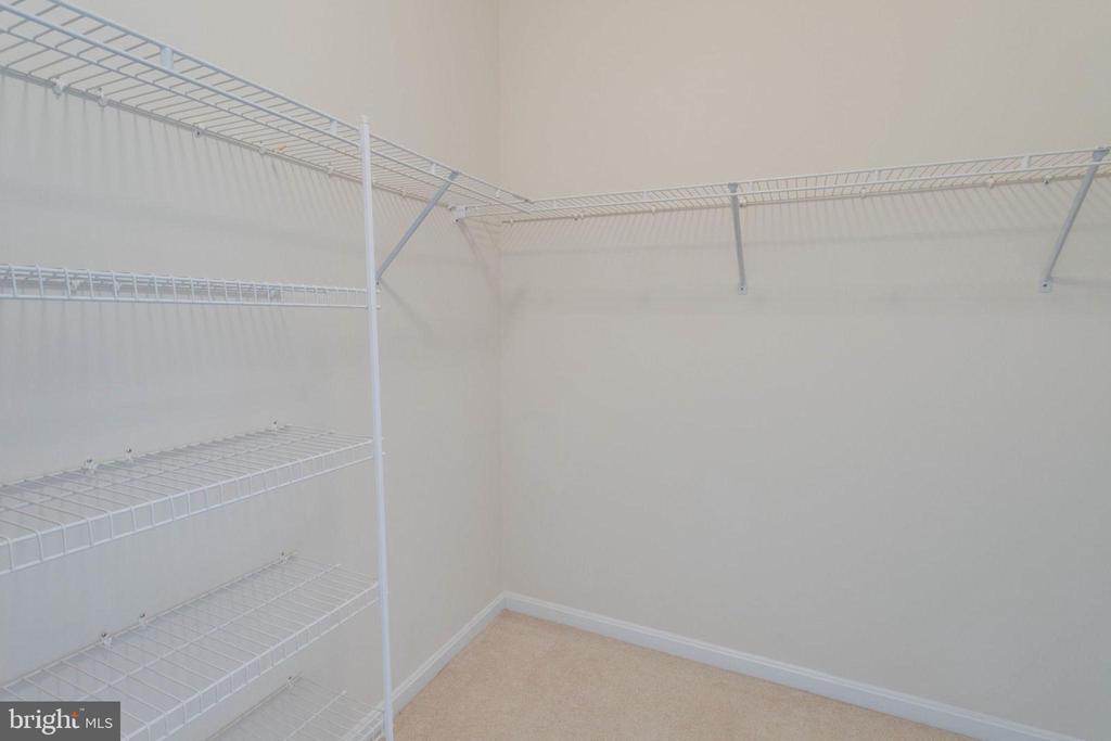 Spacious master closet - 6136 FERRIER CT, GAINESVILLE