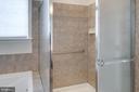 Master shower - 6136 FERRIER CT, GAINESVILLE