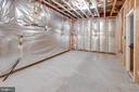 Lower level unfinished storage area - 6136 FERRIER CT, GAINESVILLE