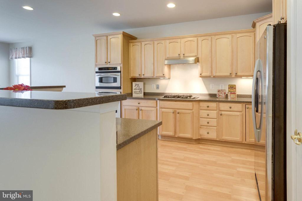 Maple cabinets with pullouts and under lights - 6136 FERRIER CT, GAINESVILLE