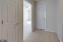 Upper level bedroom 3 entrance - 6136 FERRIER CT, GAINESVILLE
