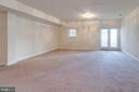 Lower level family room is huge! - 6136 FERRIER CT, GAINESVILLE