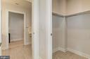 with custom walk-in closets - 1427 RHODE ISLAND AVE NW #PH3, WASHINGTON