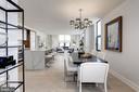 An open floor-plan prefect for entertaining - 1427 RHODE ISLAND AVE NW #PH3, WASHINGTON
