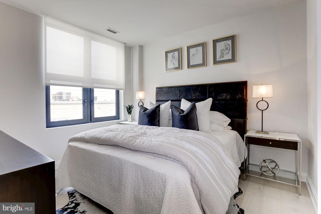 Main level Master suite - 1427 RHODE ISLAND AVE NW #PH3, WASHINGTON