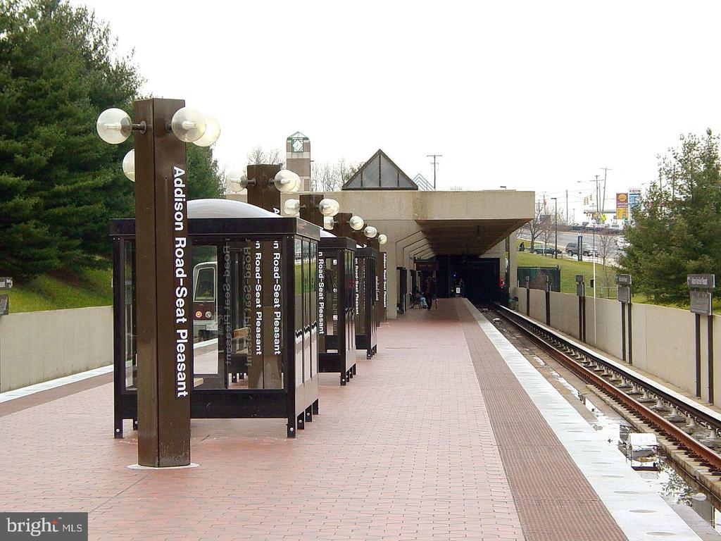 Metro walking distance - 6511 ADAK ST, CAPITOL HEIGHTS