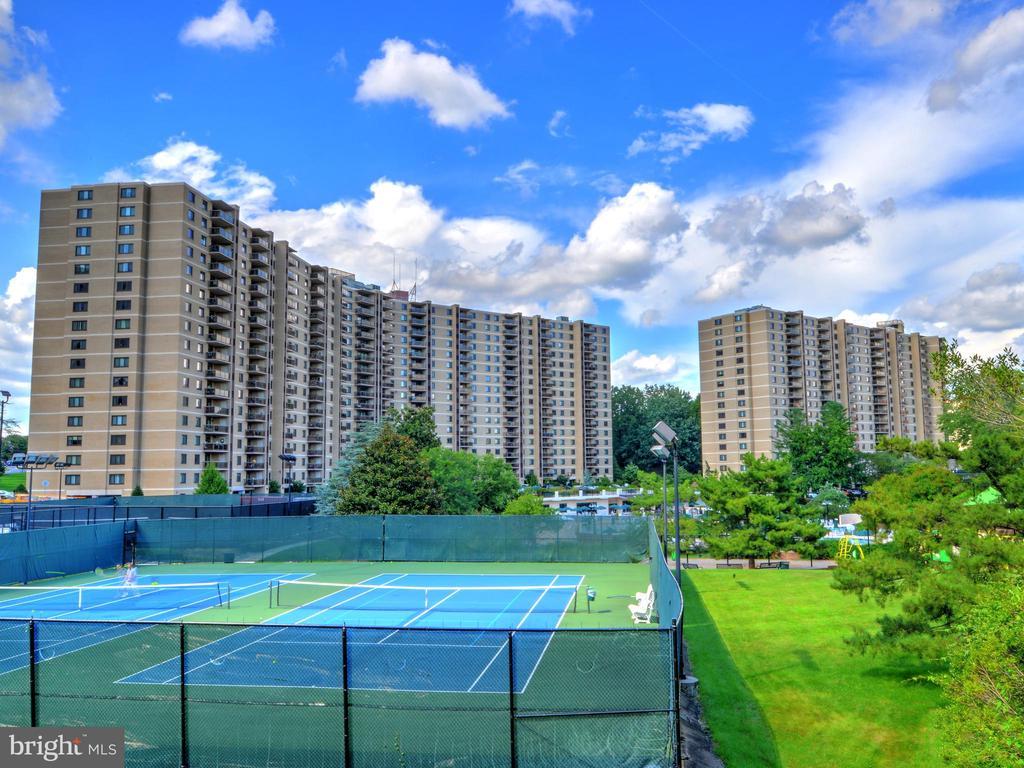 Outdoor Tennis Courts - 203 YOAKUM PKWY #317, ALEXANDRIA