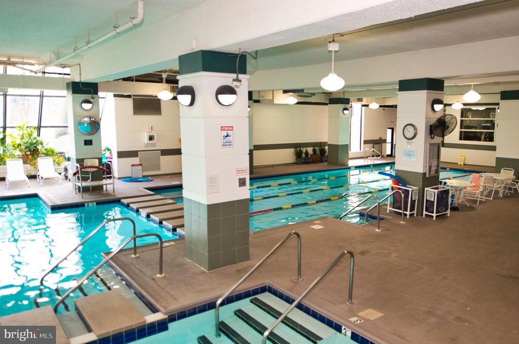 Amenities -- Indoor Pool - 203 YOAKUM PKWY #317, ALEXANDRIA