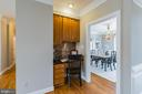 Built in planning desk with extra cabinets - 20440 SWAN CREEK CT, STERLING
