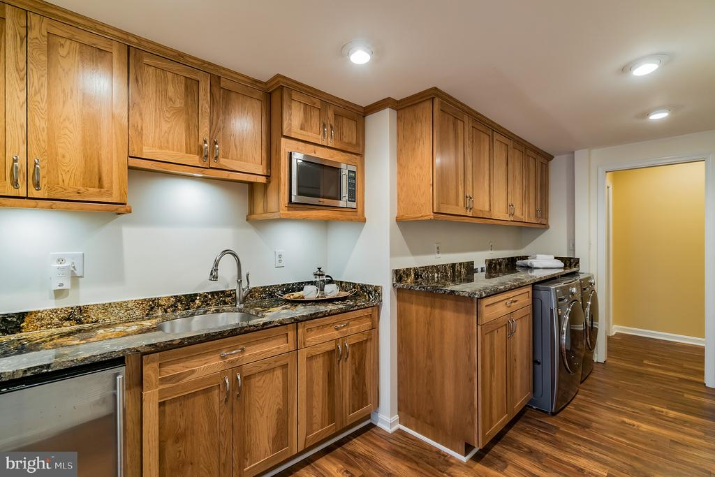 Kitchenette, laundry rm w/granite - 20440 SWAN CREEK CT, STERLING
