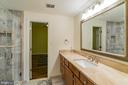 5th full bathroom in lower level - 20440 SWAN CREEK CT, STERLING