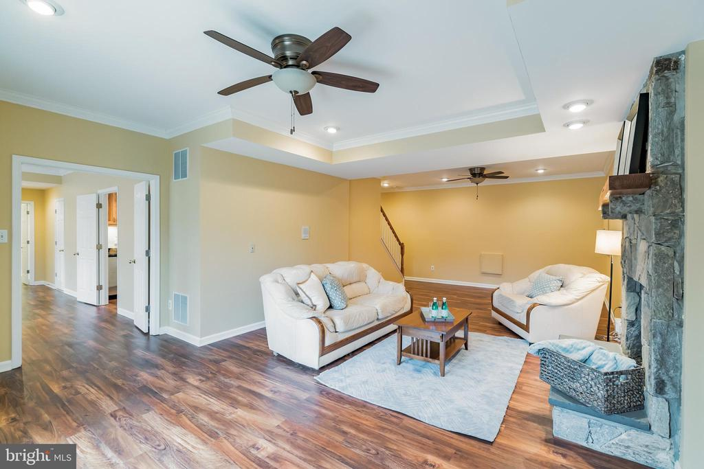 Lower level living room - 20440 SWAN CREEK CT, STERLING