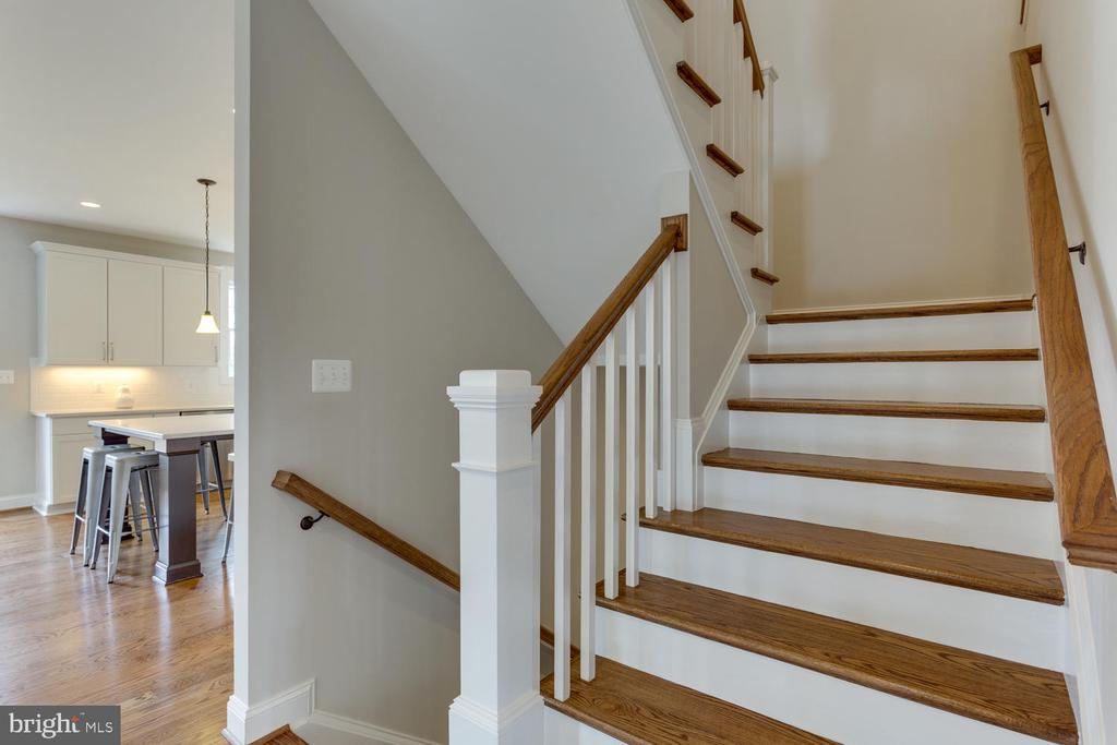 Main Level Stair - 2809 ROSEMARY LN, FALLS CHURCH