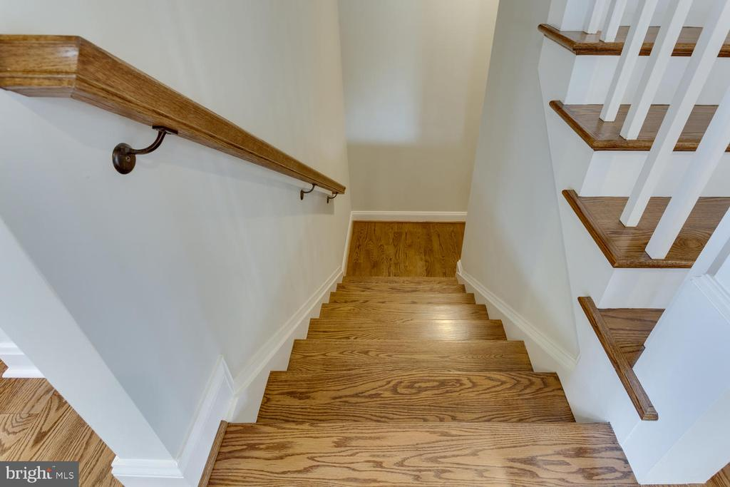 Stairs to  Lower Level - 2809 ROSEMARY LN, FALLS CHURCH