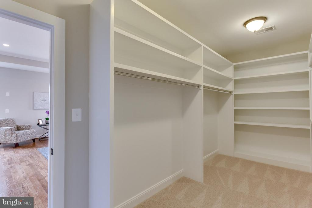 Master Bedroom Walk-in Closet - 2809 ROSEMARY LN, FALLS CHURCH