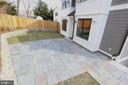 Stone Patio with Gas Line for Grill - 4617 GLENBROOK PKWY, BETHESDA